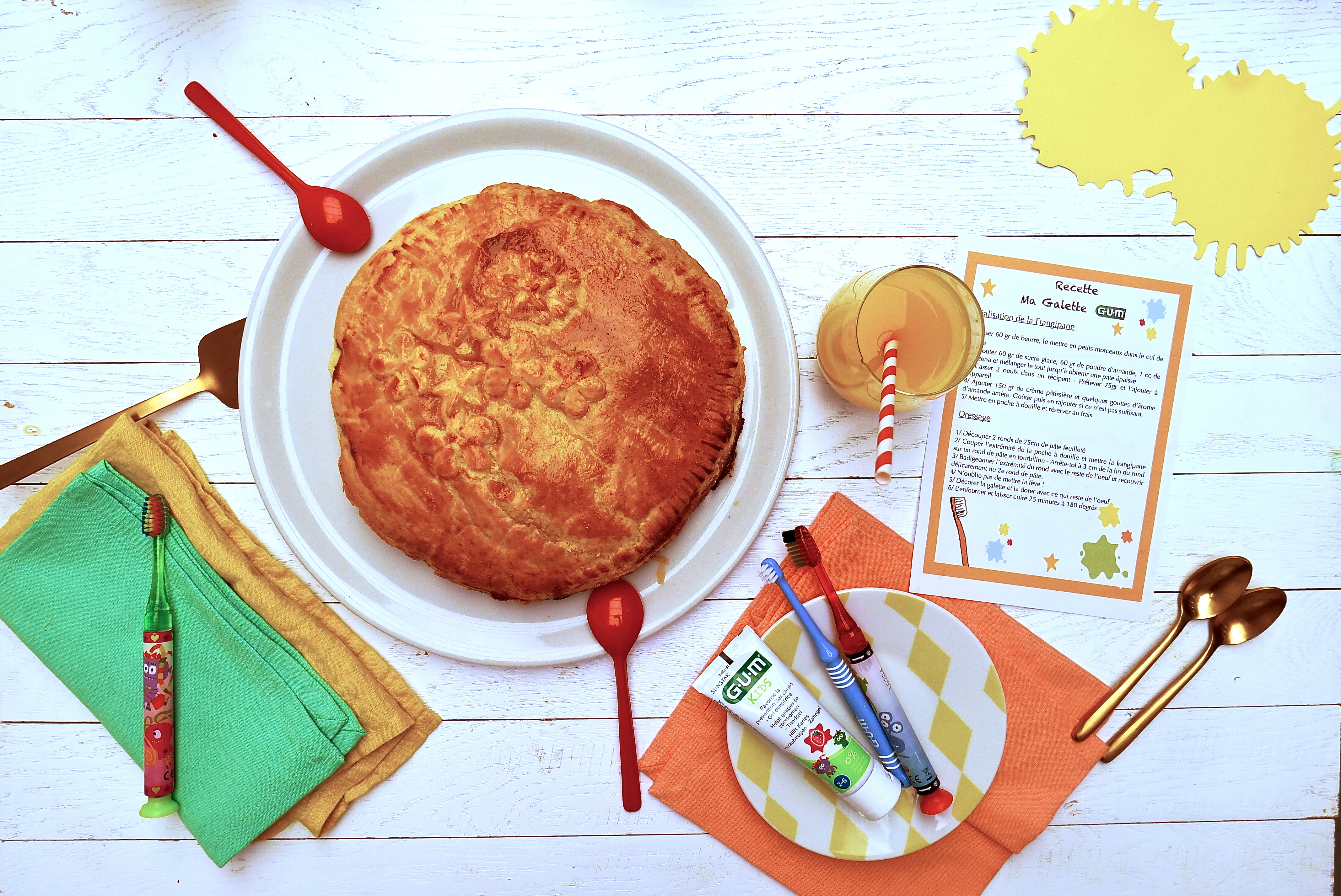 La galette des rois pour les nuls recette simple et rapide - Recette de cuisine pour les nuls ...