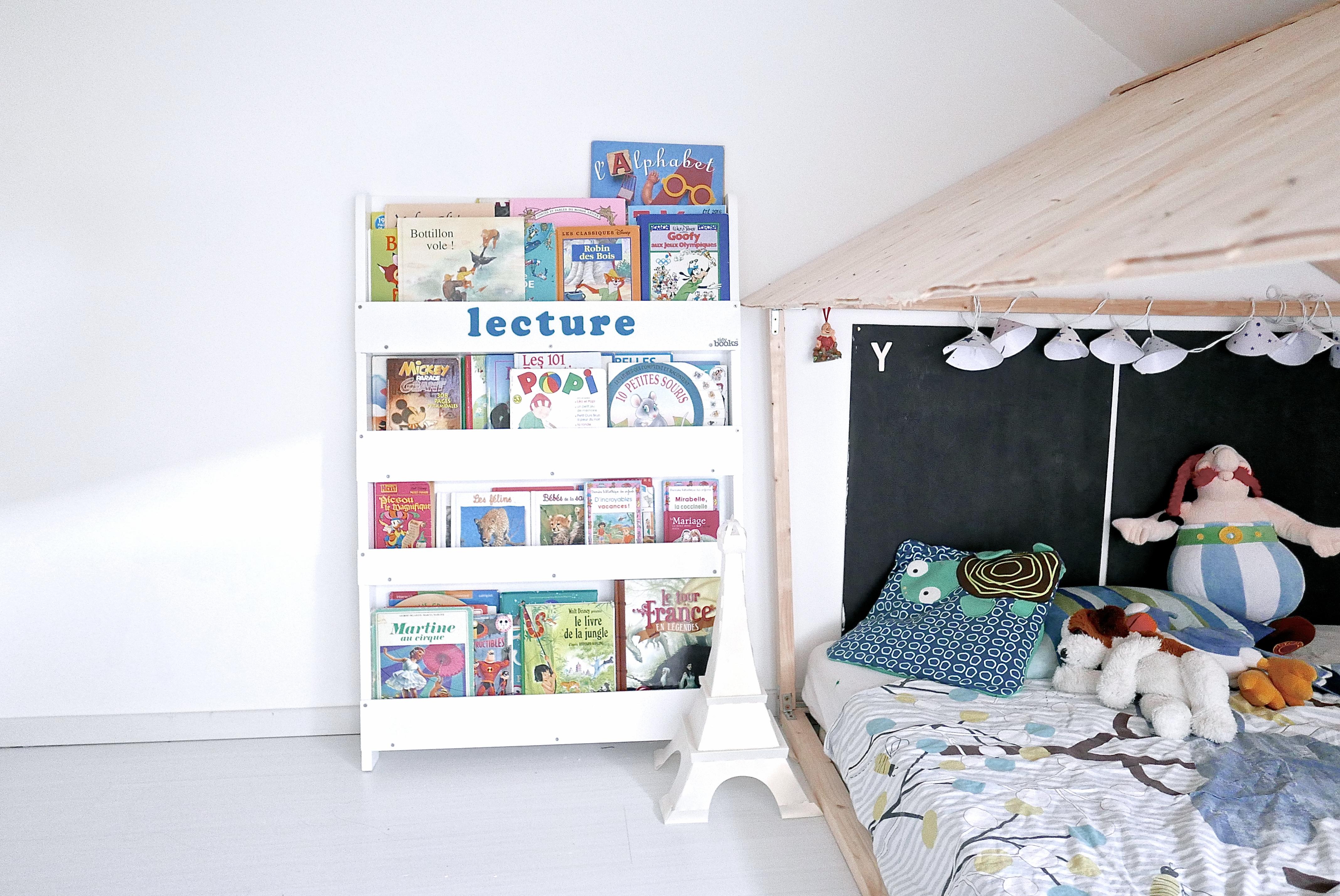 Lit Cabane Maman Louve leur coin lecture tidy books et le lit cabane - zozomum